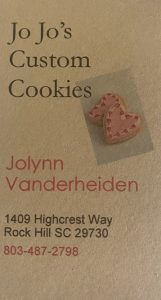 JoJo's Custom Cookies